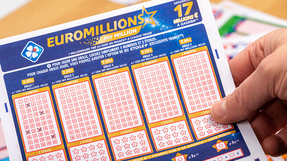 Record Jackpot valt bij EuroMillions
